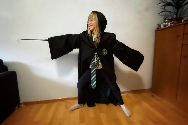 Kraftvolle Haltungen für Harry Potter-Fans