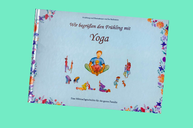"Familienyoga: ""Wir begrüßen den Frühling mit Yoga"" (PDF)"