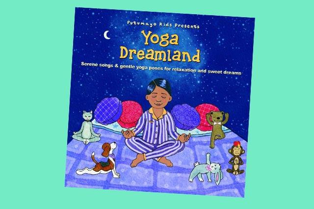 "CD ""Yoga Dreamland"" im Kindertest"