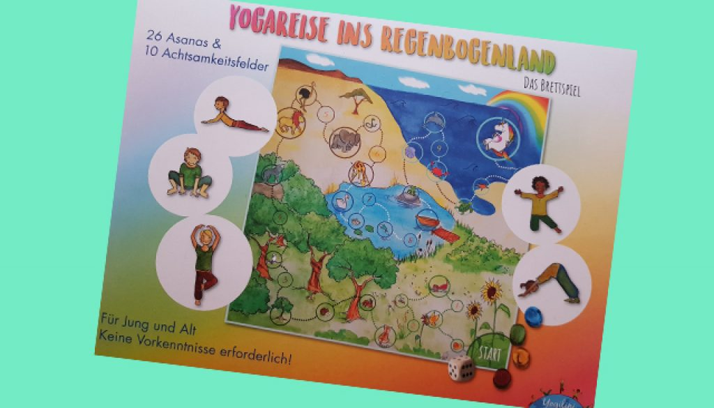 Yogareise ins Regenbogenland