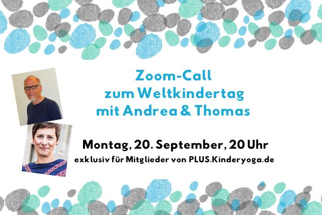 Exklusiv für alle Mitglieder: Zoom-Call mit Andrea & Thomas