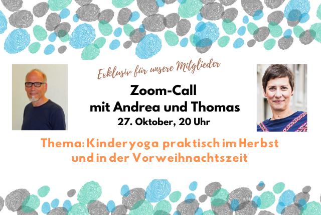 Zoom-Call: Praktische Ideen für Herbst und Vorweihnachtszeit