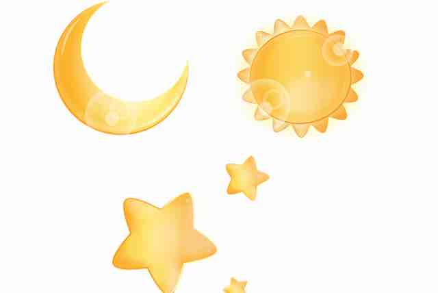 Sonne, Mond und Sterne (3 bis 4 Jahre) (PDF)